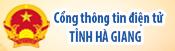 Cổng thông tin điện tử tỉnh Hà Giang