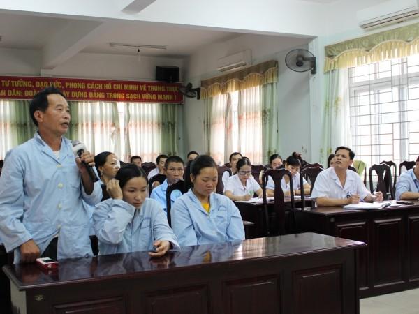 Họp hội đồng người bệnh tại Bệnh viện ĐKKV Hoàng Su Phì
