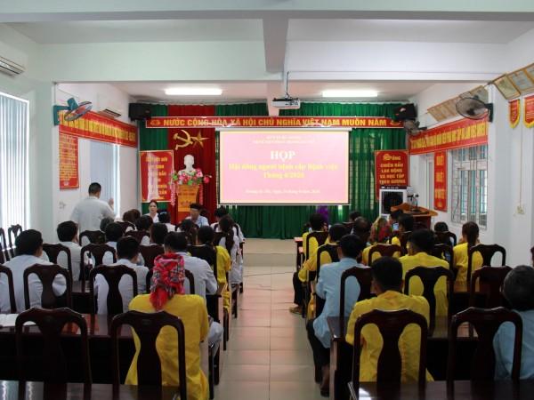 Họp hội đồng người bệnh cấp bệnh viện tại Bệnh viện ĐKKV Hoàng Su Phì