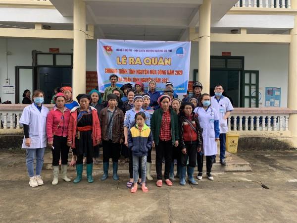 Bệnh viện ĐKKV Hoàng Su Phì tổ chức khám bệnh, cấp phát thuốc miễn phí tại xã Túng Sán