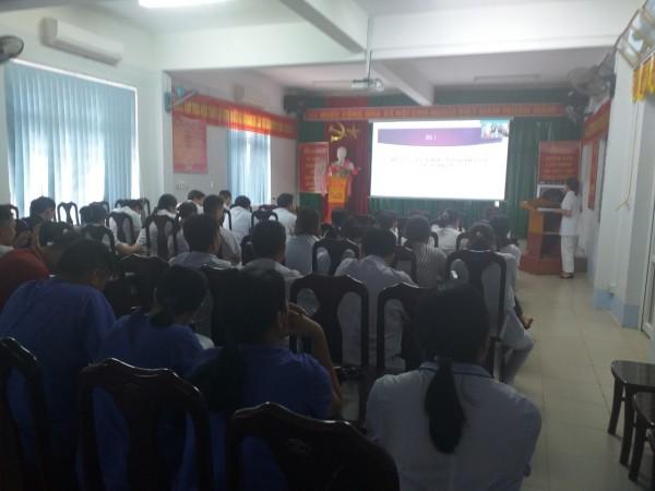 Bệnh Viện ĐKKV Hoàng Su Phì tổ chức tập huấn nâng cao công tác tư vấn truyền thông giáo dục sức khỏe cho cán bộ y tế