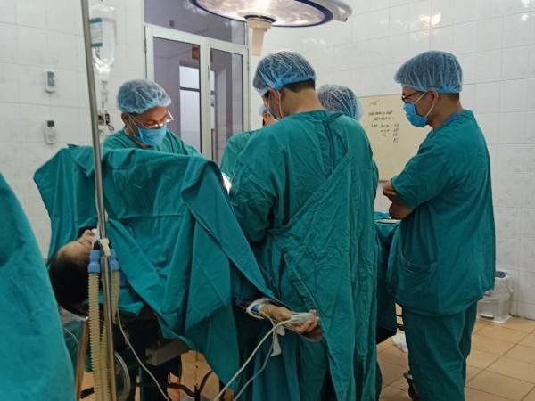 Bệnh viện đa khoa khu vực Hoàng Su Phì phẫu thuật thành công thoát vị bẹn bằng phương pháp Lichten – stein