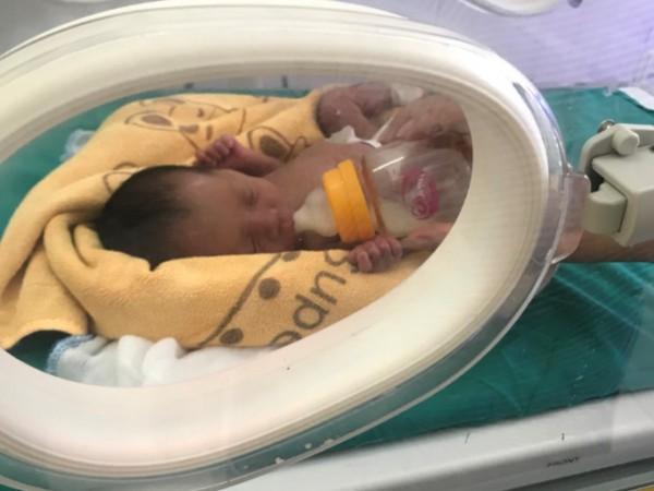 Bệnh viện ĐKKV Hoàng Su Phì chăm sóc thành công trẻ sơ sinh non tháng nhẹ cân